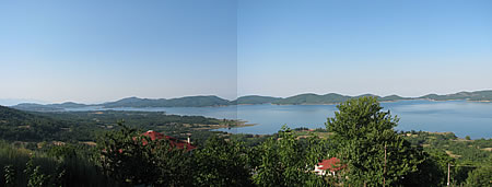 Λίμνη Πλαστήρα - Θέα