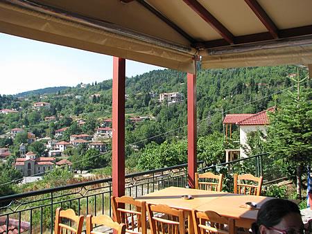 Η θέα προς το βουνό από το Προσήλιο
