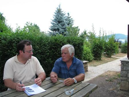 Συζητώντας με τον κ. Δημήτρη Παπαντώνη