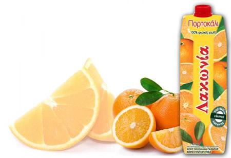 χυμός πορτοκάλι λακωνία