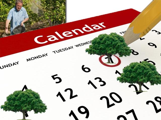 Ημερολόγιο Εργασιών Στον Κήπο – Εργασίες και Εποχή Σποράς