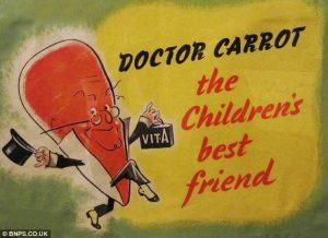 Τα Καρότα Βελτιώνουν την Όραση