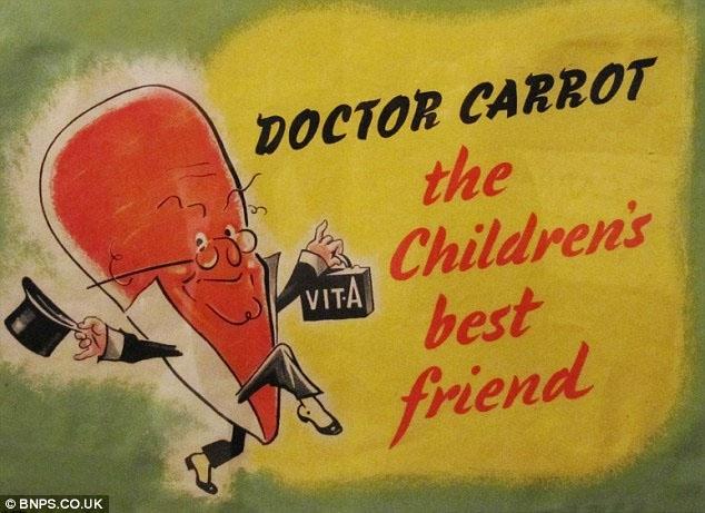 Τα Καρότα Βελτιώνουν την Όραση. Μύθος ή Αλήθεια;