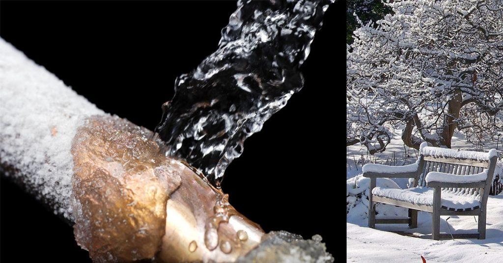 Τι να κάνω για να μην σπάσουν οι σωλήνες νερού από το κρύο