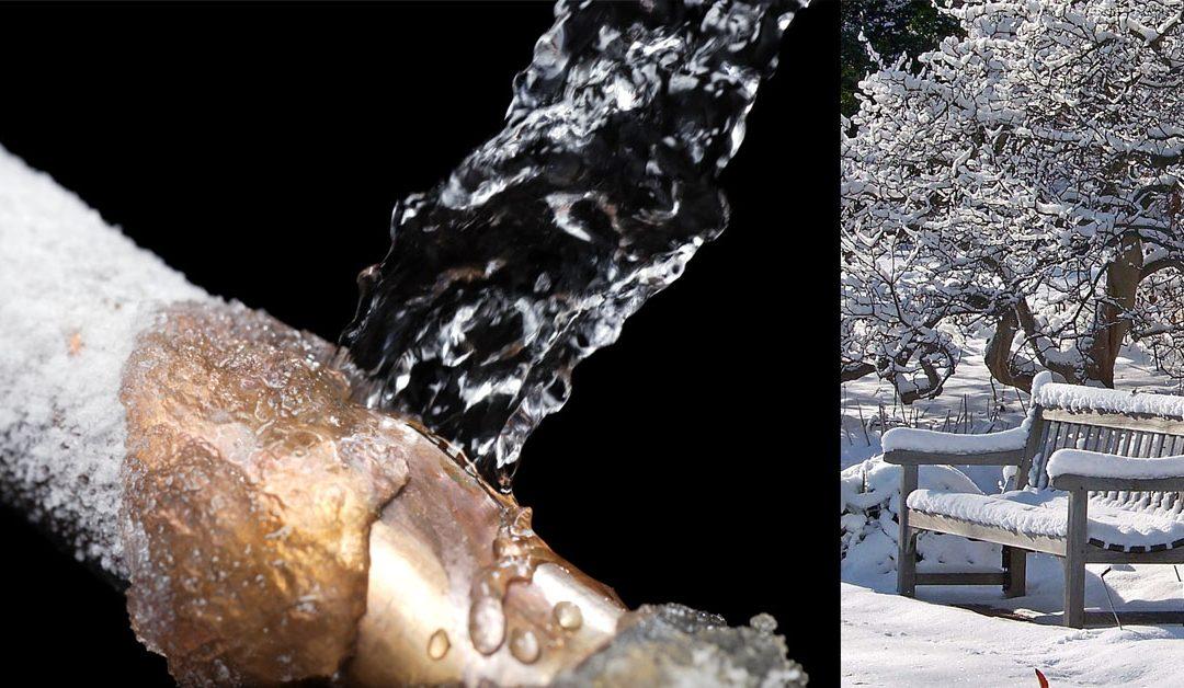 Τι να κάνω για να μην σπάσουν οι σωλήνες νερού από το κρύο. Συμβουλές για την αντιμετώπιση της παγωνιάς στον κήπο και το εξοχικό