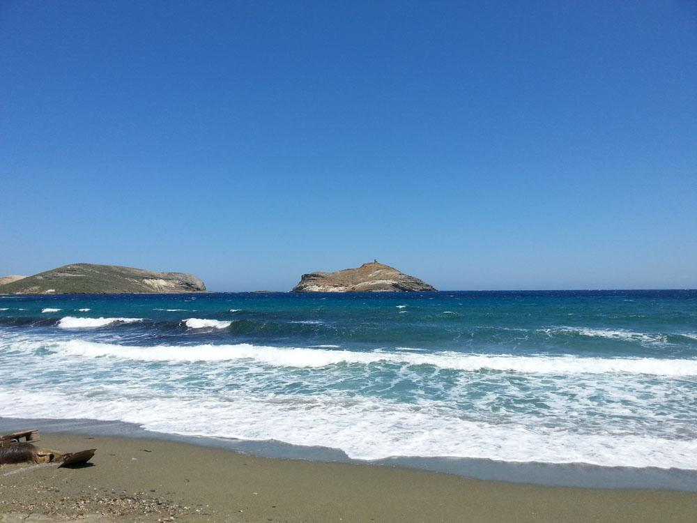 Ρώχαρη, παραλία