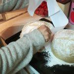 Φτιάχνω σπιτικό καρβέλι ψωμί με φόρμα από χαρτί