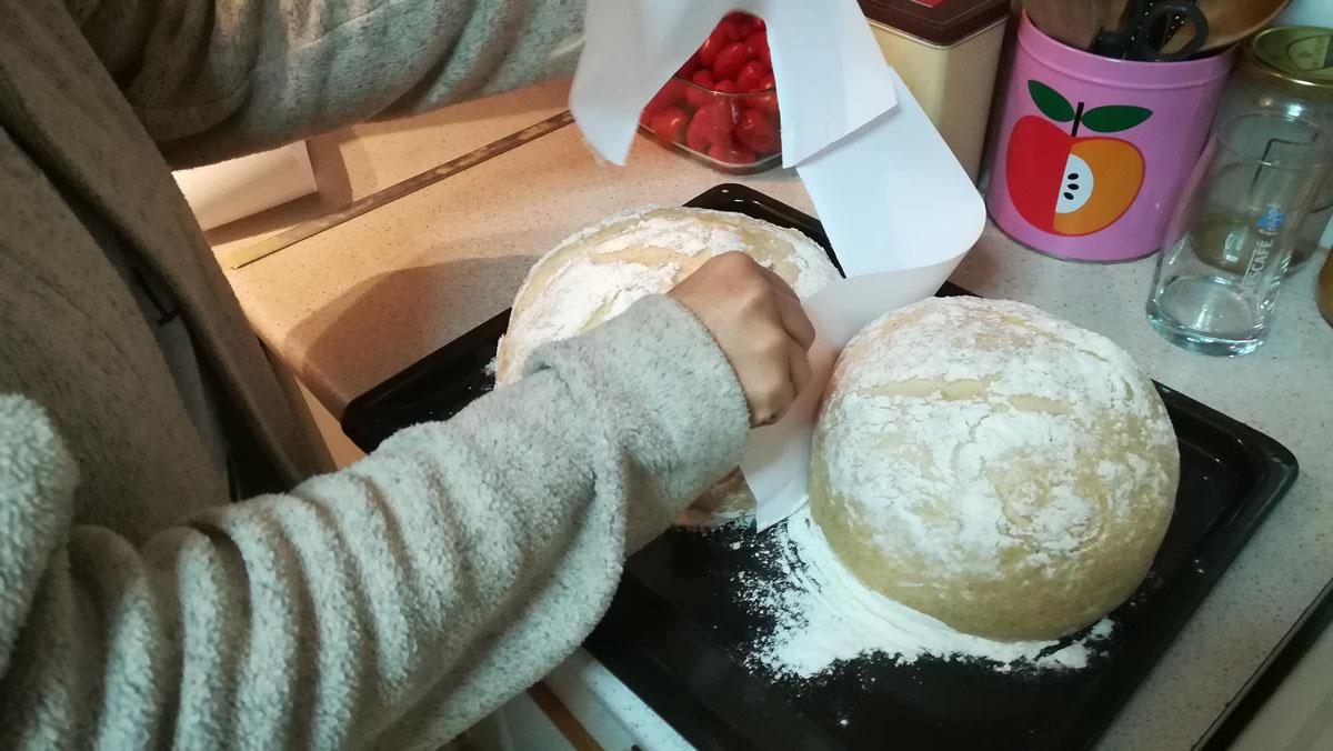 Φόρμα για ψωμί από χαρτί - Η Τατιάνα την βγάζει
